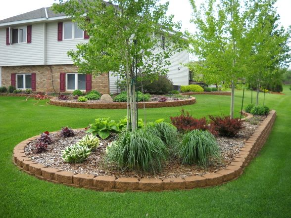 Landscaping For Suburban Home Yard Pinterest