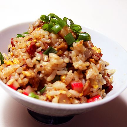 Spam Fried Rice :) | side dishes | Pinterest