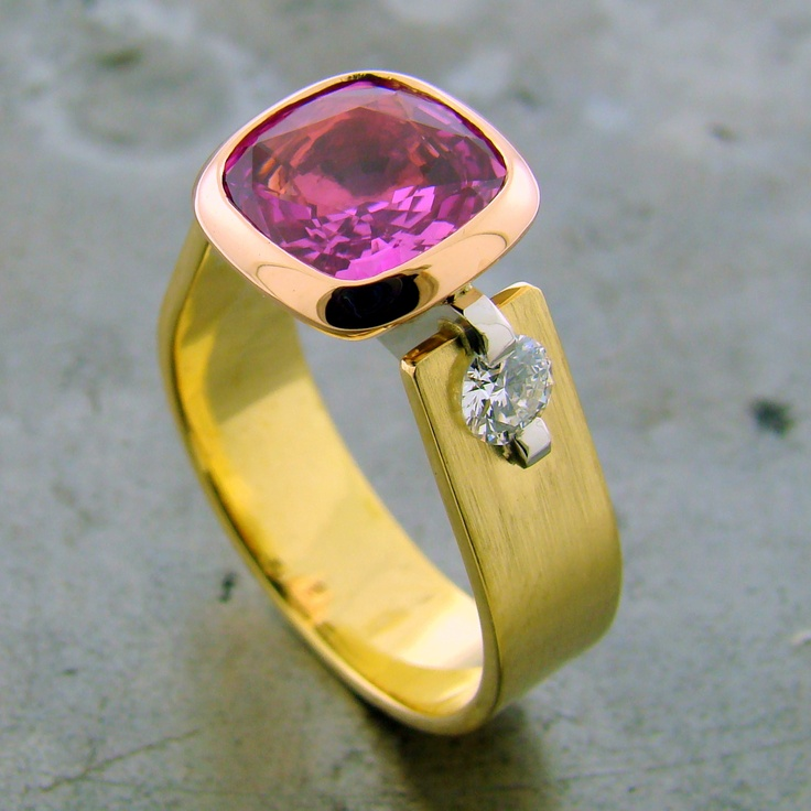 pin by william travis jewelry on color rings