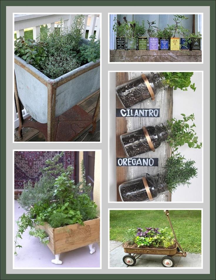 herb garden ideas For the Home Pinterest