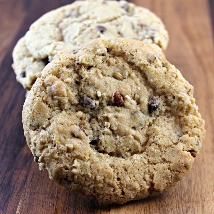 Oatmeal Chocolate Chip and Pecan Cookies | Cookies | Pinterest
