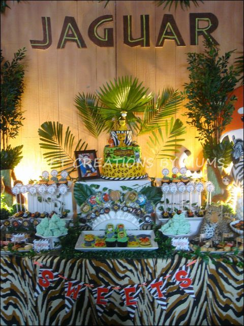 Jungle Safari Party #jungle #party