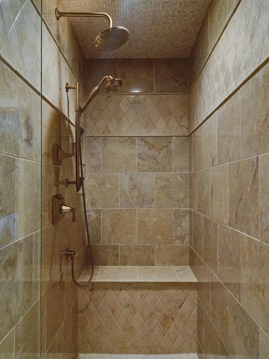 Shower Tile Walk In Shower Ideas Pinterest