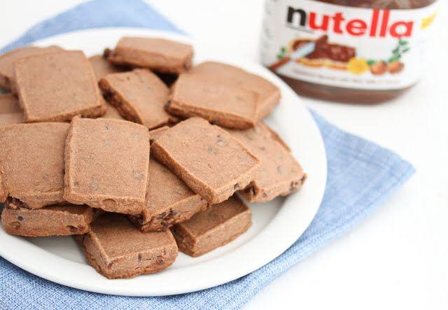 Nutella Shortbread Cookies | Kirbie's Cravings | A San Diego food blog