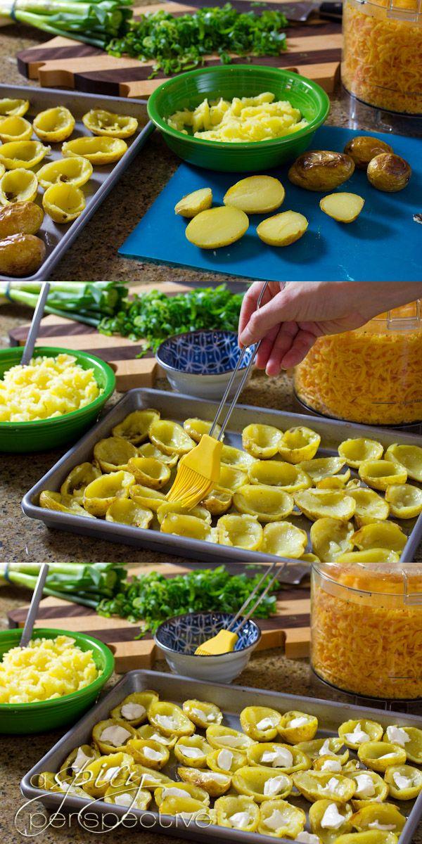 Potato Skins Mac and Cheese