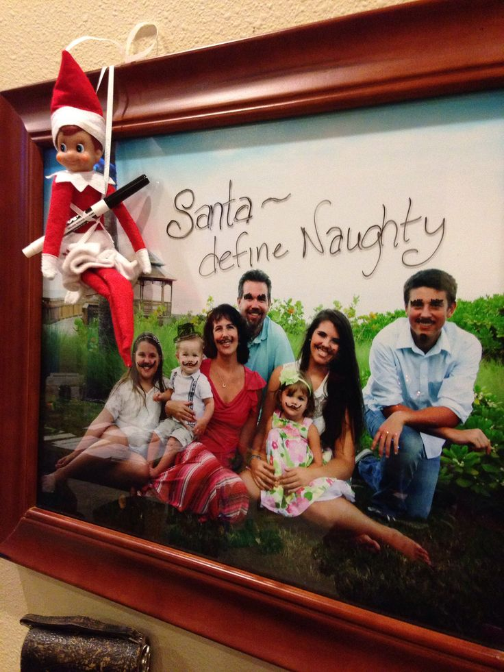 Santa, Define Naughty.... | Elf on the Shelf ideas | Pinterest