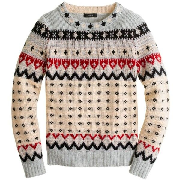 JCrew Fair Isle Ski Sweater