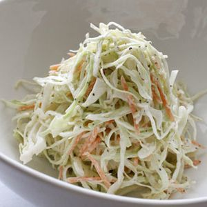 Healing Lifestyles & Spas - Coleslaw with Apple and Yogurt Dressing