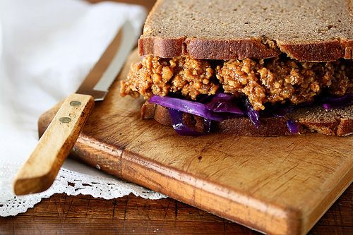 vegan sloppy joes | justenoughsalt to taste | Pinterest