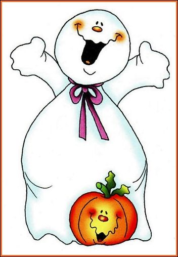 HALLOWEEN GHOST CLIP ART | HALLOWEEN CLIP ART | Pinterest