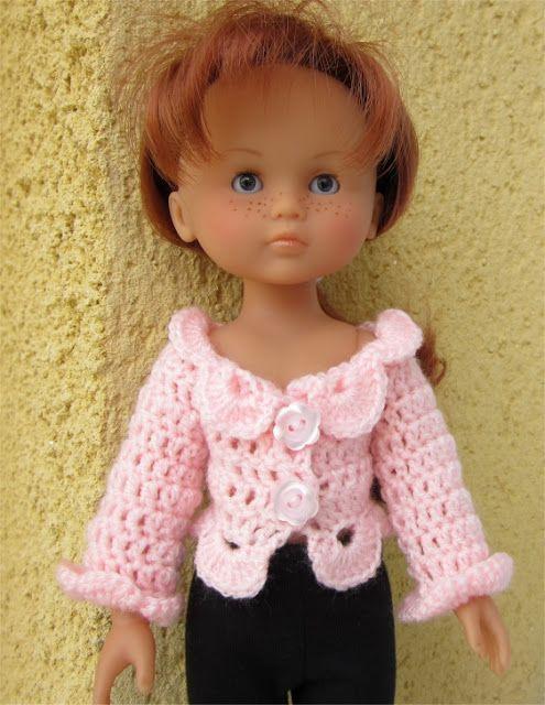 ... Poupées: crochet | Doll Clothes - Crochet Patterns | Pinterest