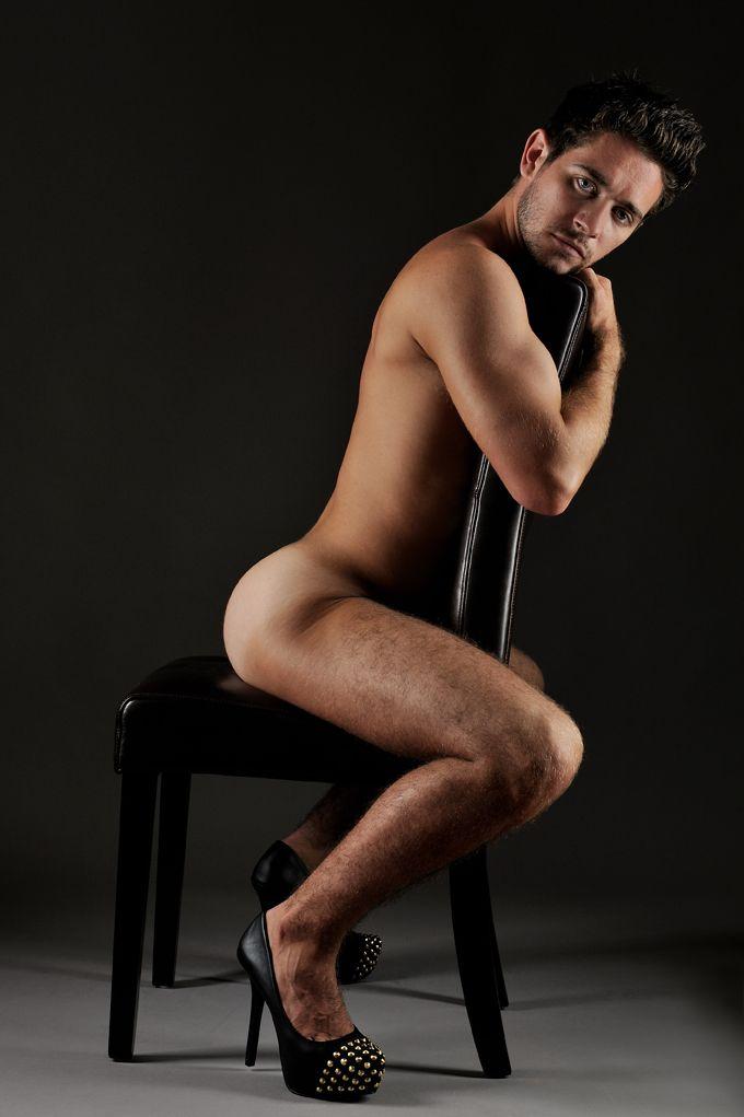 guys in stocking nude