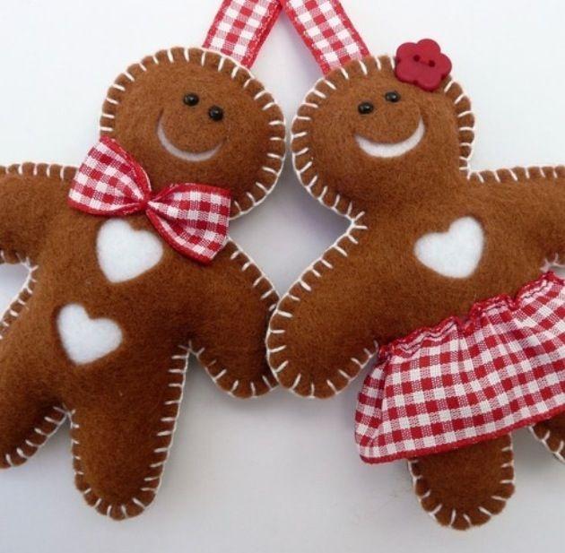 Christmas tree decorations gingerbread man christmas for Gingerbread decorations