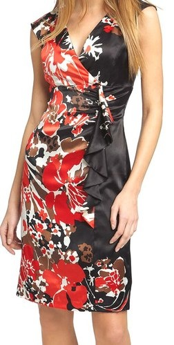 Asian print dresses opinion