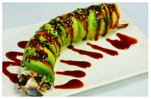 Caterpillar roll...Delish! | In the Kitchen | Pinterest