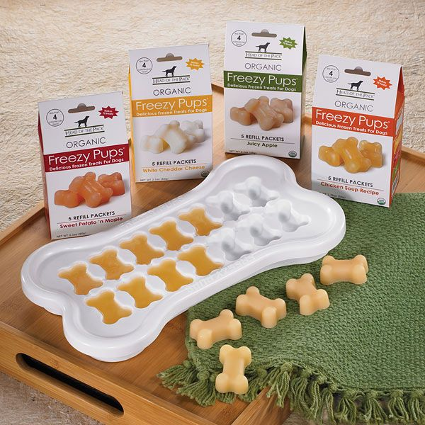 Freezy Pups Treats... for the dog days of summer : ) $19.99