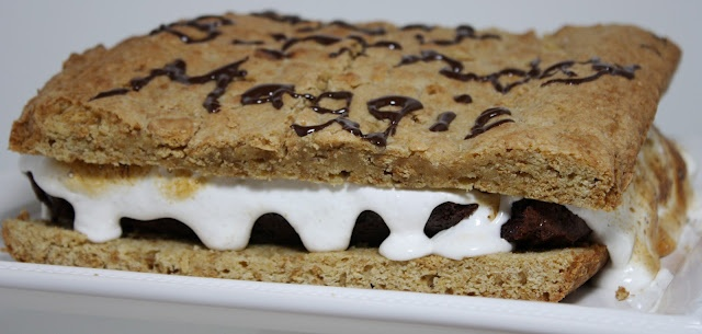 Giant S'mores Cake | Yum - Desserts | Pinterest