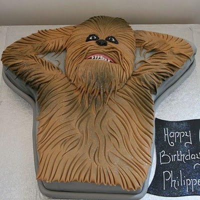 Three Letters.. Y E S @nikki striefler Neubarth  Star wars cake