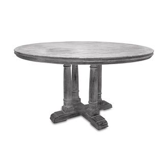 Counter Height Reclaimed Wood Table : Victoria Reclaimed Wood Counter Height Round Table