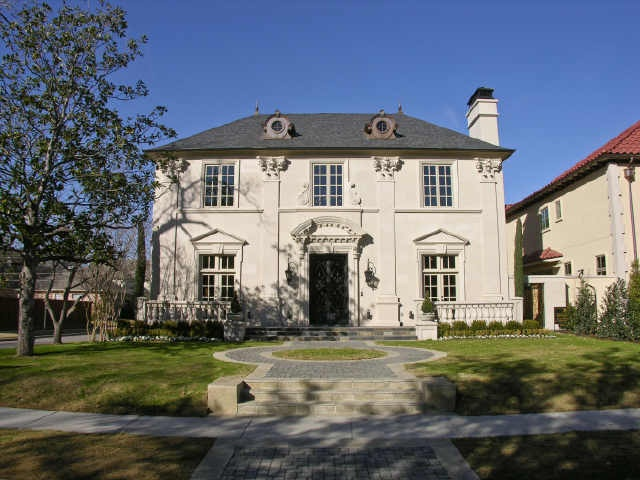 French chateau style dallas texas homes european for French chateau style