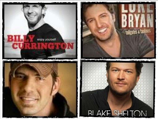Some of my favorite male country singer