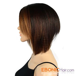 Equal Deep Invisible Part Ombre Color Lace Front Wig Melanie