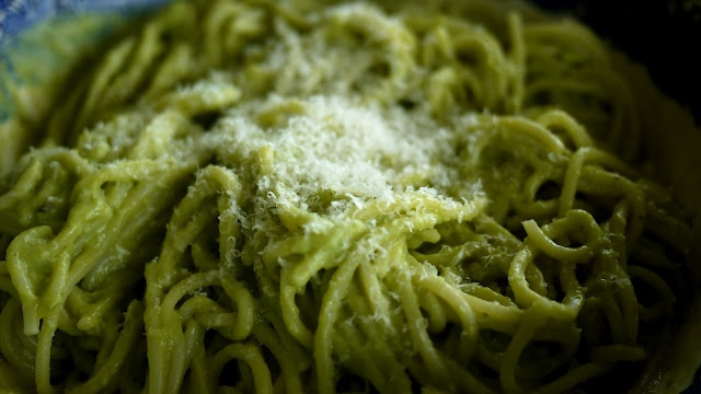 avocado spagetti and many more recipes