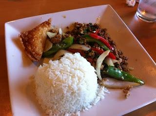 Spicy Thai Beef Basil Recipe | Taste This... | Pinterest