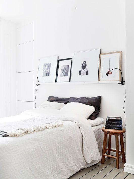 Scandinavian Inspired White Bedrooms D Cor Tio Pinterest