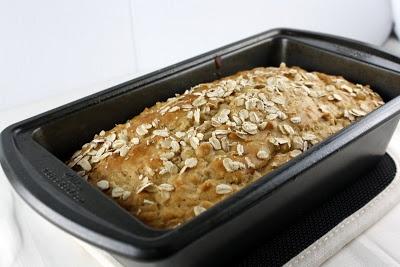 Honey Oat Quick Bread | What Megan's Making