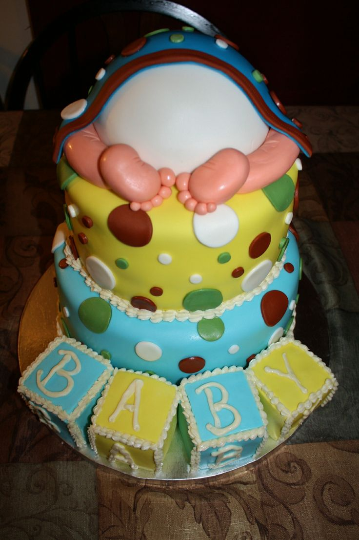Living room decorating ideas baby shower cakes glasgow for Baby cake decoration ideas