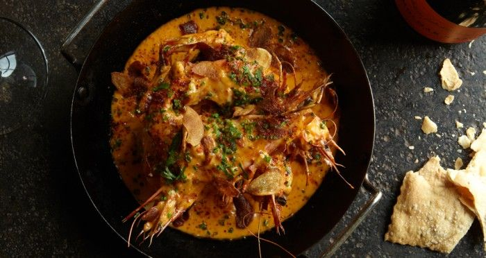 Shrimp with Ancho Butter Sauce - Gosh this looks AMAZING!