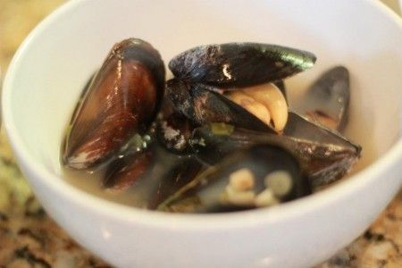 Thai Style Steamed Mussels   Food   Pinterest