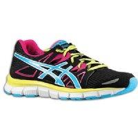 Asics Gel-Blur33 Running Shoe Black/Electric Blue/Hot Pink $99.95