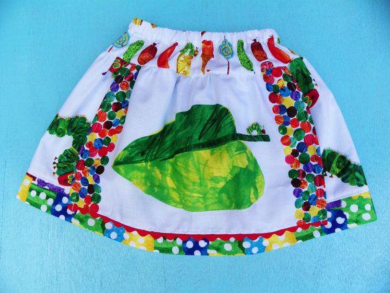 Very Hungry Caterpillar Skirt. $22.00, via Etsy.