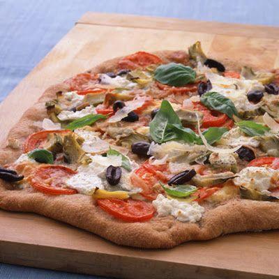 Artichoke and Ricotta Pizza! | Fun and Yummy Recipes | Pinterest
