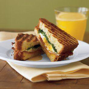 Breakfast Panini Recipe | Sandwiches, Wraps, Calzones et al | Pintere ...