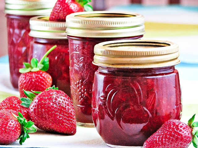 Strawberry Preserves | STRAWBERRY SEASON | Pinterest