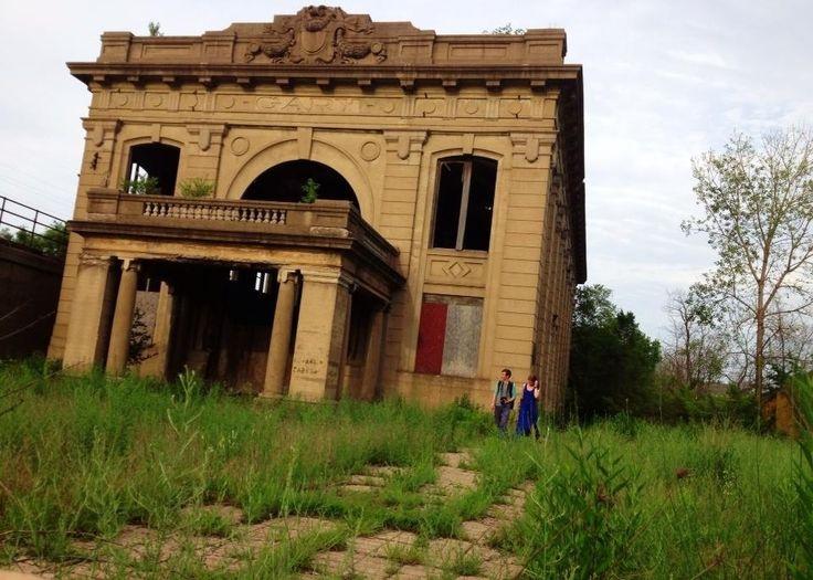 Abandoned train station abandoned pinterest