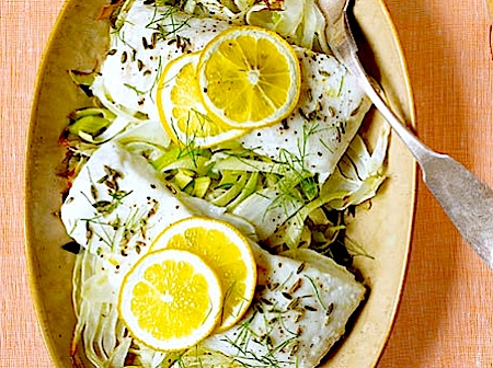 Roasted Halibut with Fennel and Potatoes | fish and seafood | Pintere ...