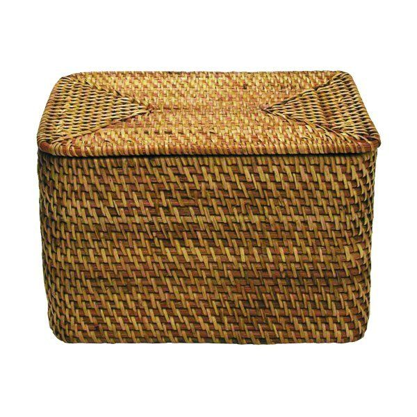 rattan baskets with lids lovely home things pinterest. Black Bedroom Furniture Sets. Home Design Ideas