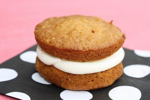 Carrot Cake Whoopie Pies | {Eat Up! } | Pinterest