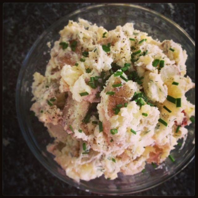 Potato Salad with Greek Yogurt, Dijon, and Dill