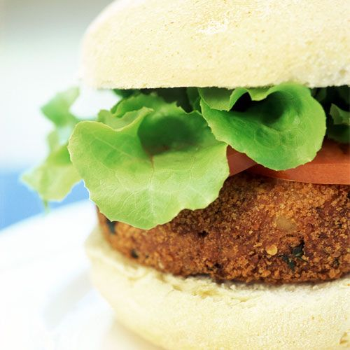 Curry-Spiced Veggie Burgers | Vegetarian Recipes | Pinterest