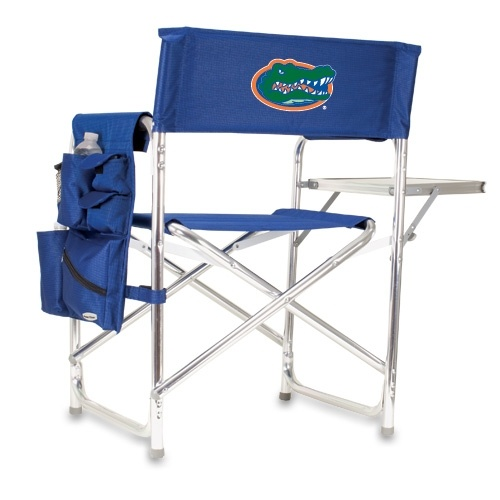 Boston red sox folding camping chair with side table