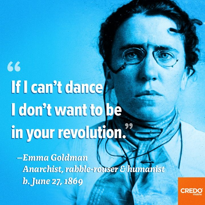 emma goldman and anarchism This particular book is a great introduction into emma goldman's world it's definitely not an anarchism 101 but the novice will be able to grasp goldman's version of anarcha-feminism.