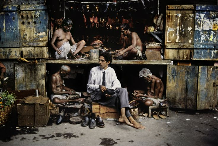 Shoe repair shop in India By Steve McCurry Life grants nothing to us