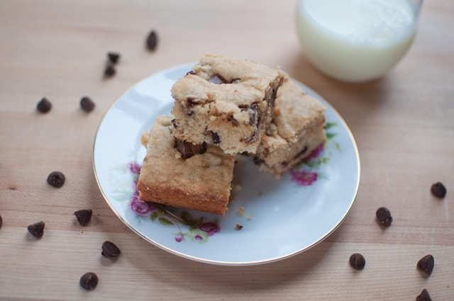 Peanut Butter Cup Blondies | Sweets | Pinterest