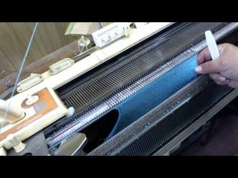 Gearhart Sock Knitting Machine - YouTube
