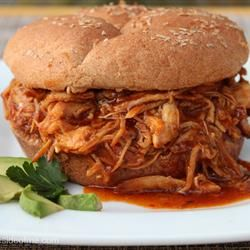 Zesty Slow Cooker Chicken Barbecue | Use your slow cooker to prepare ...